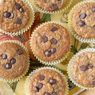 Healthy Chocolate Chip Banana Muffin