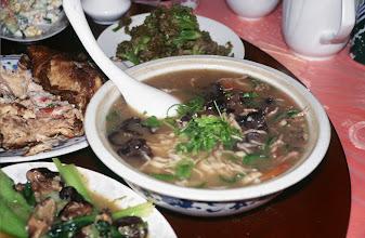 Photo: 03419 二連/市街/レストラン料理