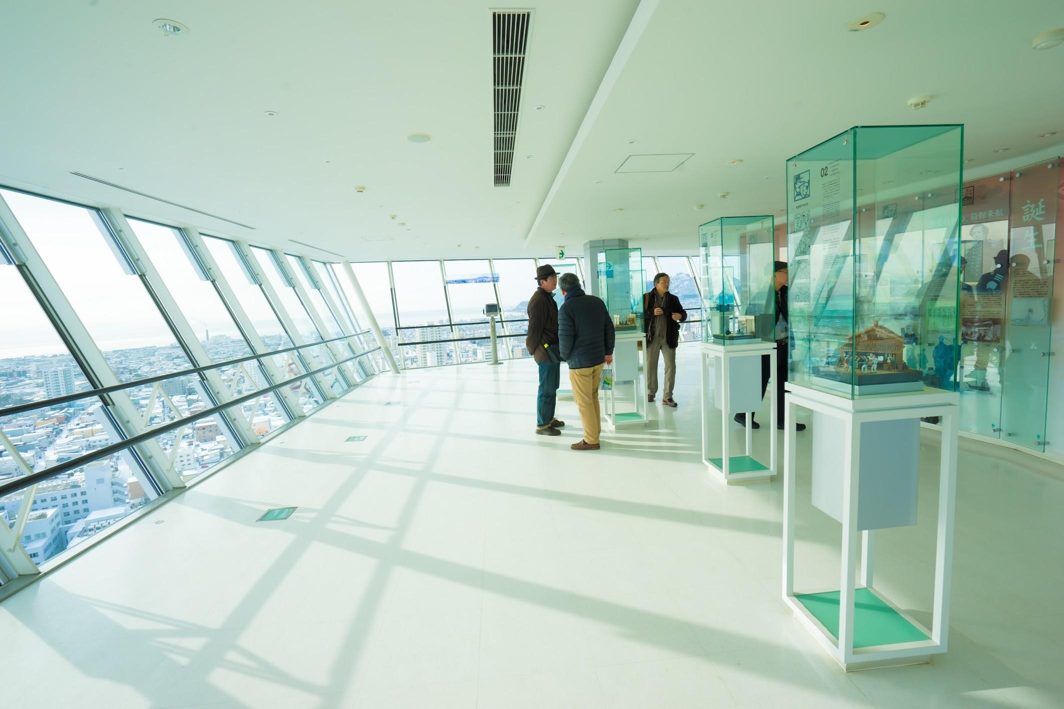函館 五稜郭タワー 展望台2