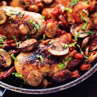 Tuscan Garlic Skillet Chicken