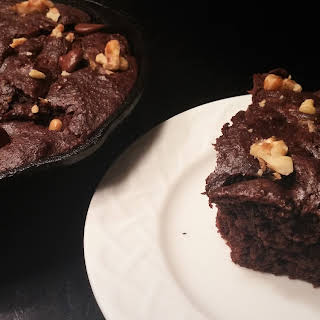 Low Carb Skillet Brownie.