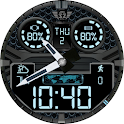 Z SHOCK 8 v1 watchface for WatchMaker with 12h/24h icon