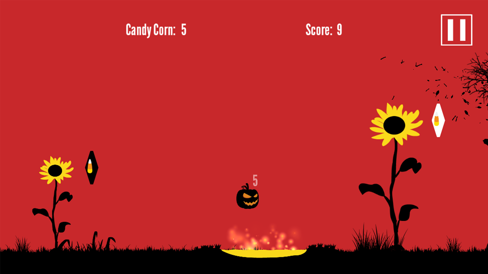 Halloween Smash - Pumpkin Head- screenshot