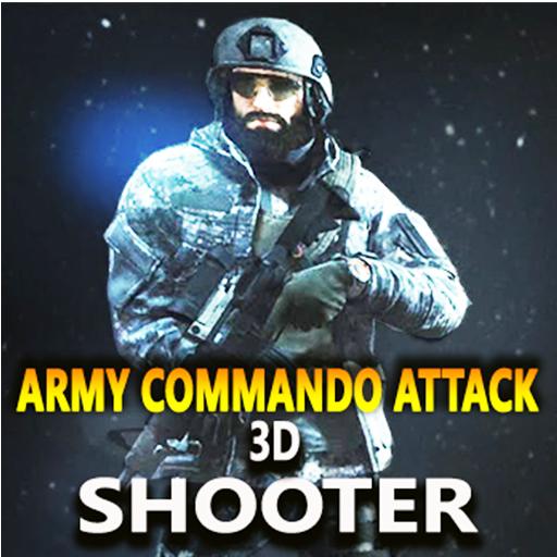 Army Commando Attack : Military commando shooter (game)