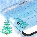 冬季雪键盘为GO icon