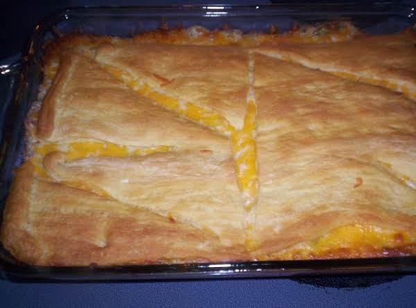 Sausage Three Cheese Casserole