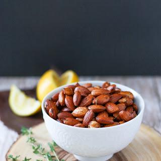Lemon Thyme Toasted Almonds