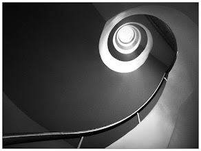 Photo: It's the cliche of all cliches but it's my first spiral with iPhone ;)  Captured using CP Pro with BW filter.  #iphoneography #blackandwhite #spiral