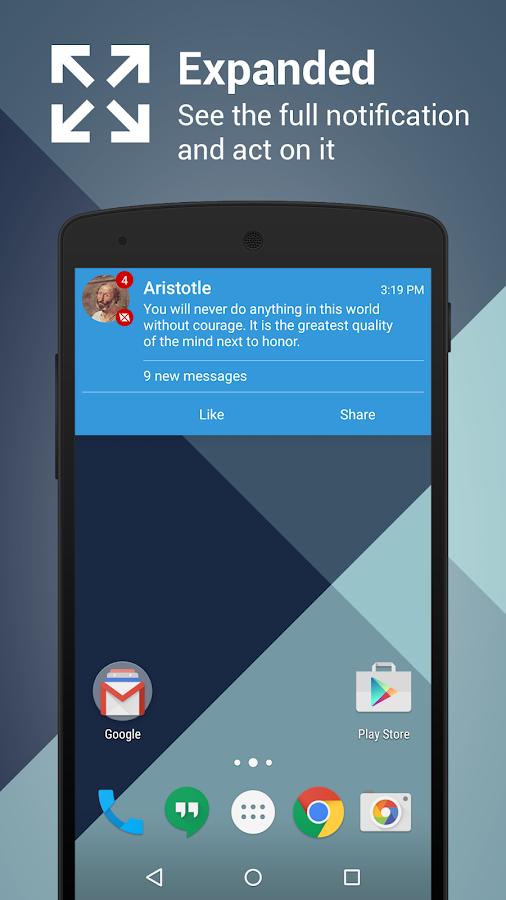 Metro Notifications Free- screenshot