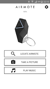 AIRMOTE - Your smart keychain screenshot 1