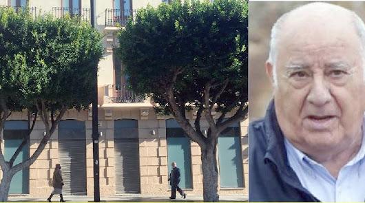 El edificio donde estuvo la cadena de Amancio Ortega está ahora vacío.