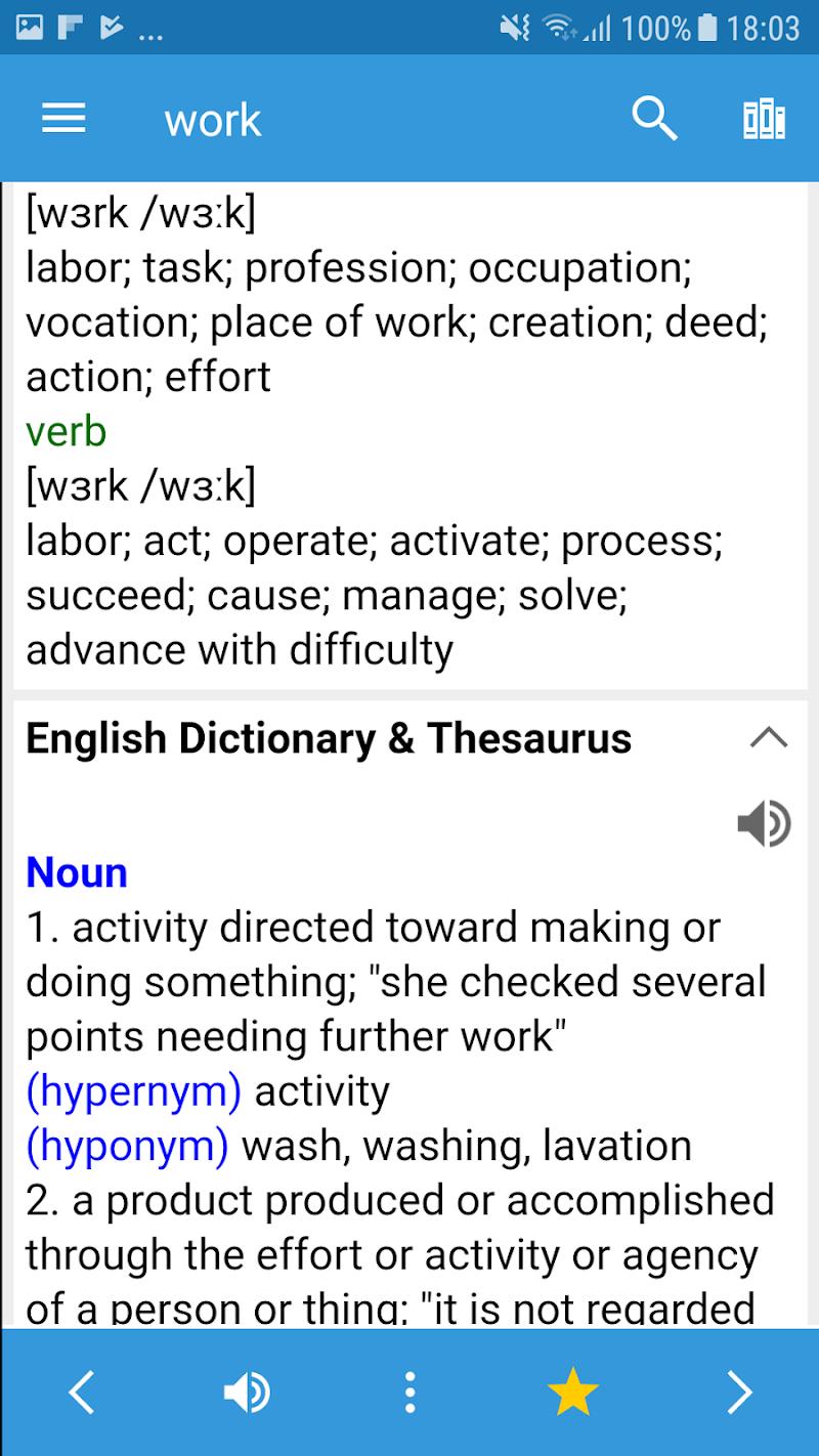 Dictionary Offline - Dict Box Screenshot 3