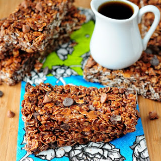 Maple Chocolate Cinnamon Granola Bars.