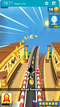 Crazy Subway Surf - Running Games