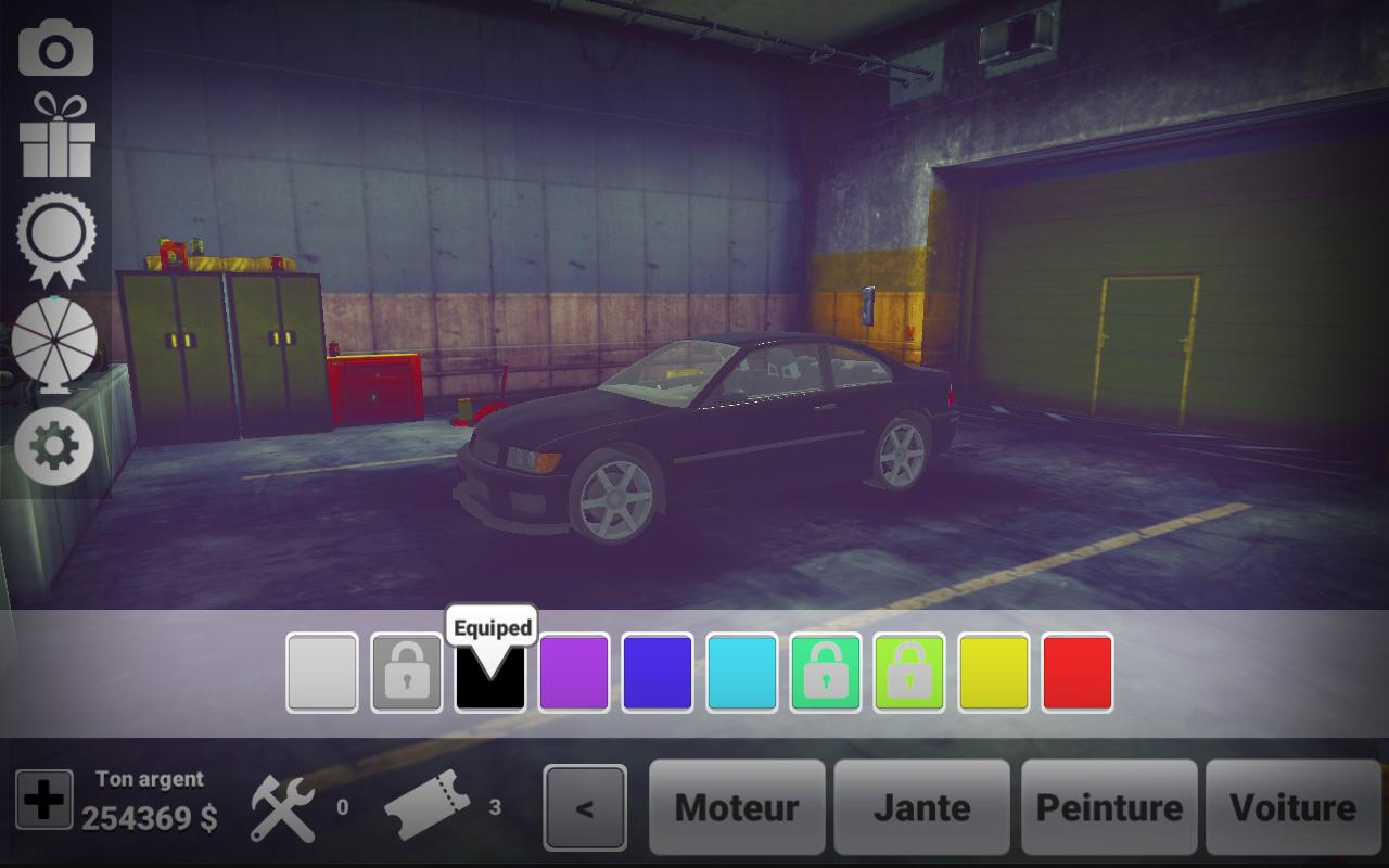 Xtreme Drift Asphalt tracks- screenshot