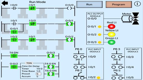 Plc Simulator  Mechatronics  Plc Ladder Logic  Plc