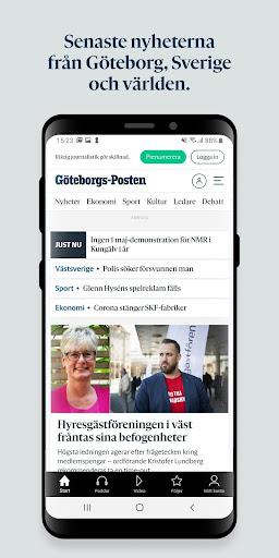 Gu00f6teborgs-Posten 5.1.0 screenshots 1