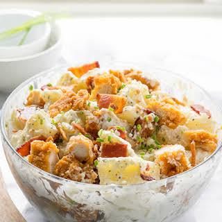 Chicken Bacon Ranch Potato Salad.