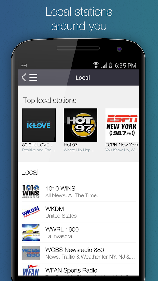 RadioDeck - Your Radio- screenshot