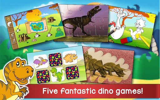 Kids Dino Adventure Game - Free Game for Children screenshots 1