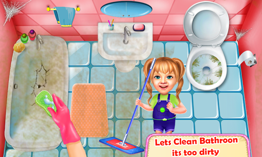 Sweet Baby Girl Cleaning Games 2018: House Cleanup 1.0.1 DreamHackers 3