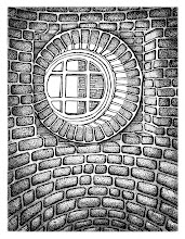 "Photo: ""Cellar Window""  11x14"" pen & ink"