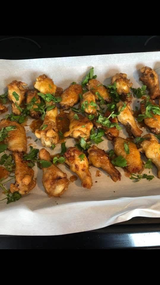 Ginger Honey Chicken Wings Recipe