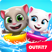 Download Talking Tom Pool APK for Android Kitkat