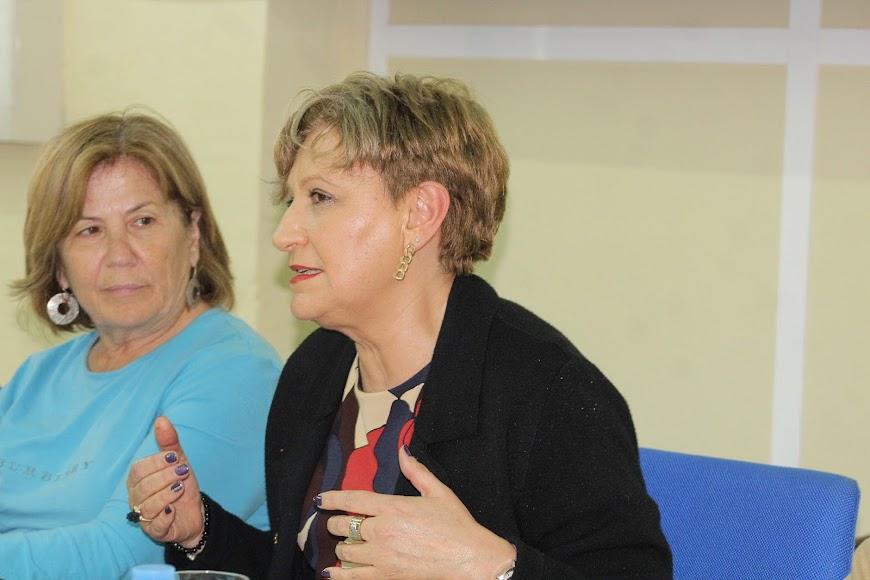 Lourdes Molina, presidenta de la Audiencia Provincial.