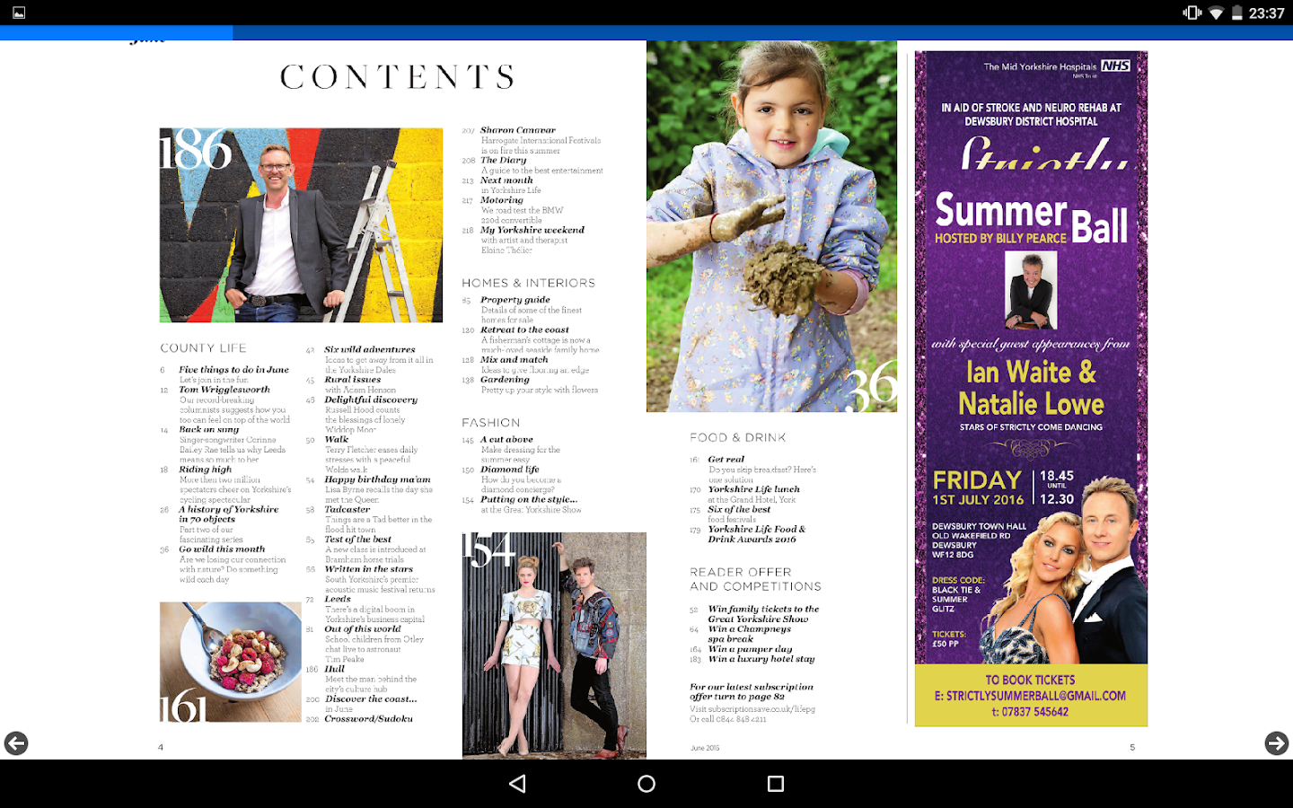 Yorkshire Life Magazine- screenshot