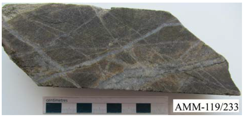 Биотит-кварц-каливошпатовый метасоматит