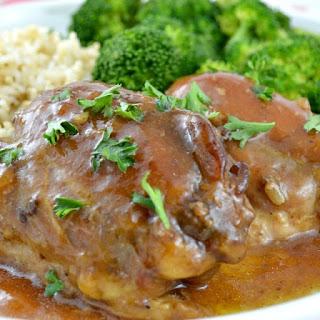 Brown Sugar Crock Pot Chicken.