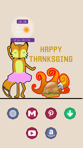 android A Happy Thanksgiving Day Screenshot 1