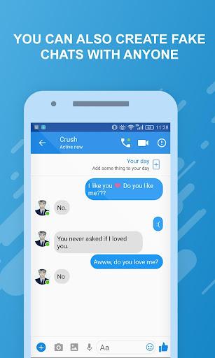 Funny chats - fake messenger 1.0.4 screenshots 7