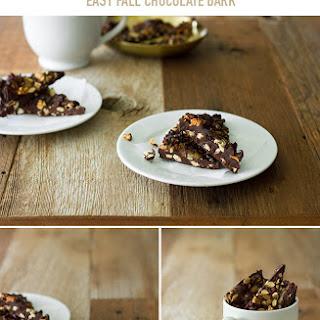 Easy Fall Chocolate Bark