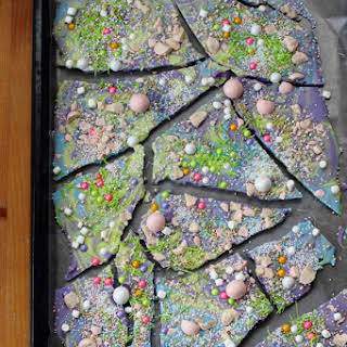 Unicorn Poop Candy Bark.