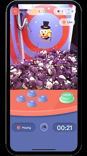 Winner Winner Live Arcade - Real Claw Machines 1.4.0 screenshots 2