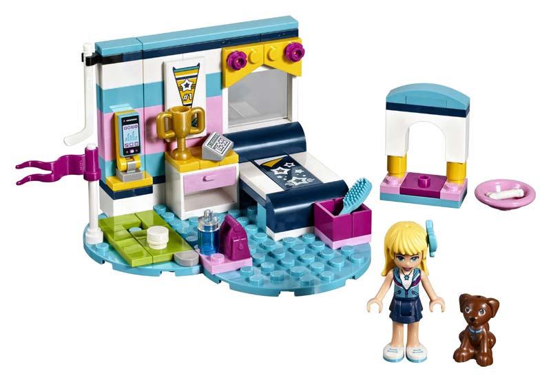 Contenido de Lego® 41328 Dormitorio de Stephanie