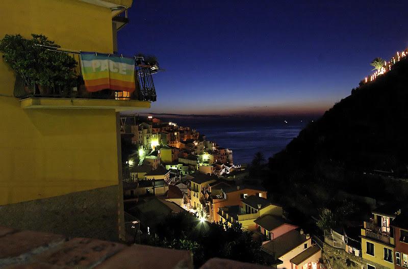 Manarola by night di manolina
