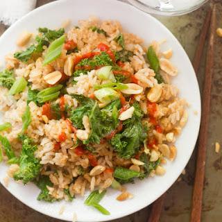 Kale & Peanut Butter Fried Rice.