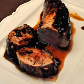 Grilled Pork Tenderloin, Ginger & Star Anise Marinade.