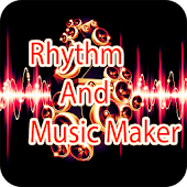 Rhythm and Music Maker with piano and drum