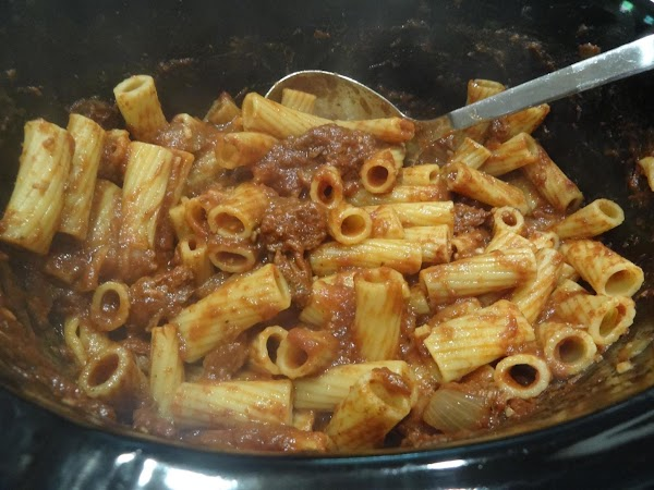 Cook pasta according to directions.  Drain pasta.  Combine pasta and sauce. ...
