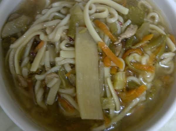 Pork Chop Suey Soup Recipe