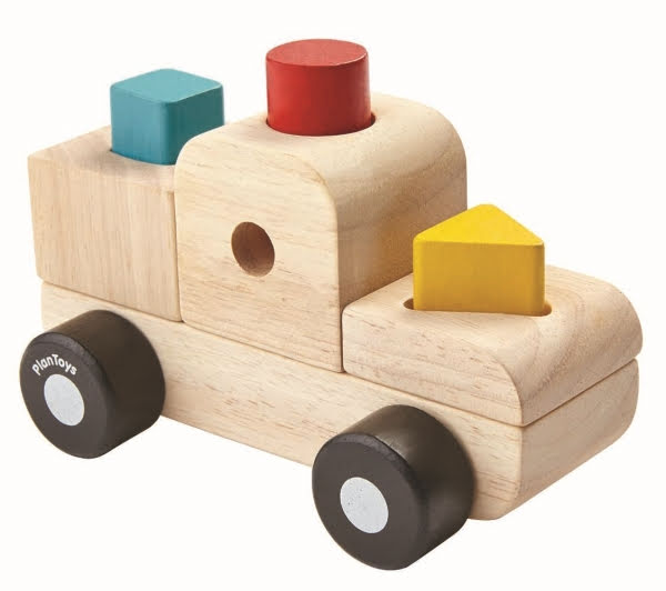 PlanToys Sorting Puzzle Truck