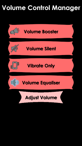 Volume Control Manager