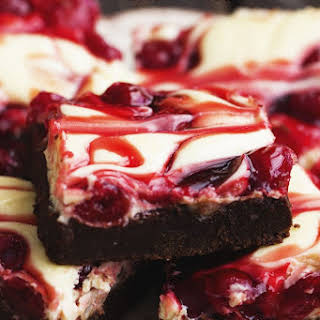 Brownies With Cherry Pie Filling Mixed In Recipes.