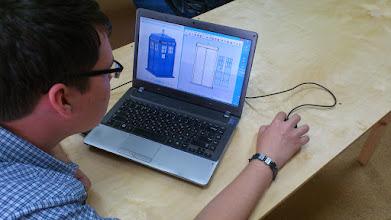 Photo: Создаем модель Tardis для 3D-принтера