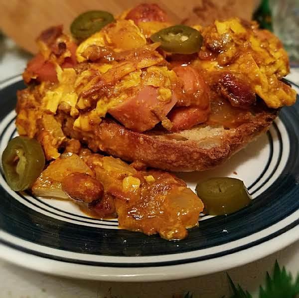 Chili Dog Casserole Ciabattas Recipe