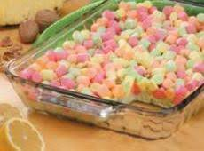 Pastel Marshmallow Lemon/lime  Dessert Recipe